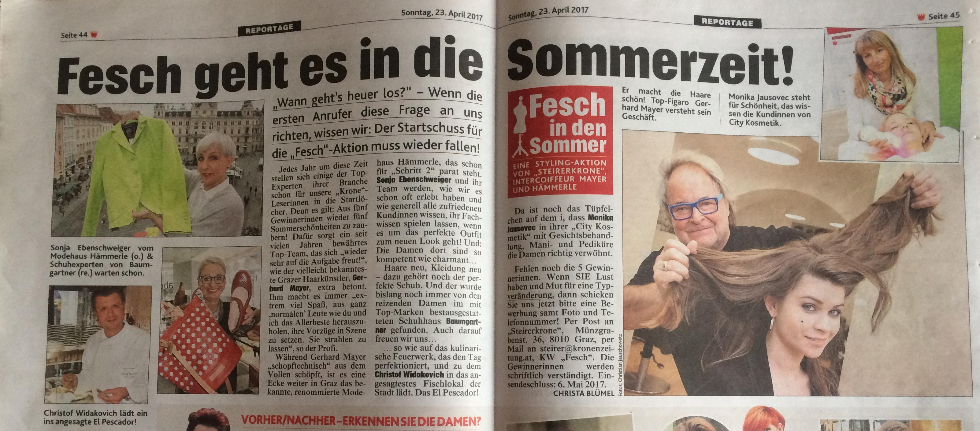 Fesch in den Grazer Sommer newsbild